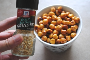 Dancing for Donuts | Sriracha Roasted Chickpeas