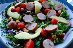 Dancing for Donuts | 5-Minute Salad (With Homemade Dressing)